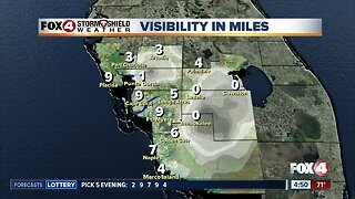 Forecast: Morning fog and near record high temperatures today