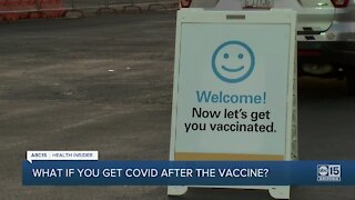 What happens if you get COVID-19 between vaccine doses?
