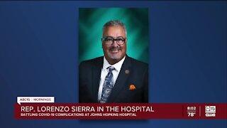 Rep. Sierra hospitalized with coronavirus
