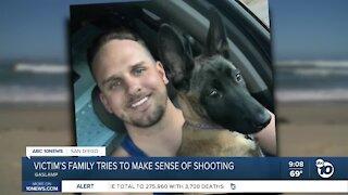 Victim's family tries to make sense of Gaslamp shooting