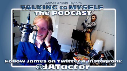 Talking to Myself: The James Arnold Taylor Podcast Promo