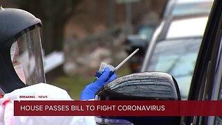 House passes bill to fight Coronavirus
