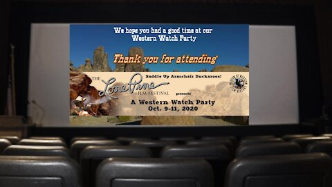 Thank you for attending...'The Western Watch Party'