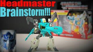 Transformers Headmaster - Brainstorm Review