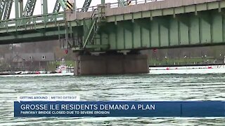 Grosse Ile residents demand a plan for Parkway Bridge