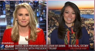 The Real Story - OANN Exclusive Trump Sit-Down with Chanel Rion