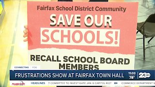 Frustrations show at Fairfax Town Hall