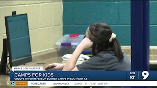 Southern AZ kids to attend in-person camps this Summer