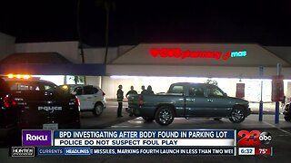 Bakersfield Police Department investigating man found dead in car outside CVS