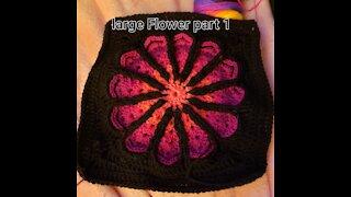 Flower granny square pt 1