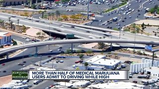 Study: More than half of Michigan medical marijuana users admit to driving while high