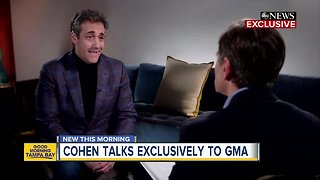 Trump's ex-attorney Michael Cohen breaks his silence in exclusive interview with ABC News