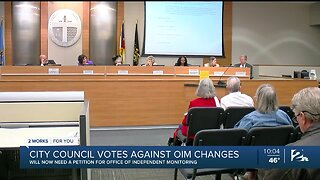 Tulsa City Council Votes Against Office of Independent Monitoring Charter Changes
