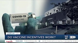 Do vaccine incentives work?