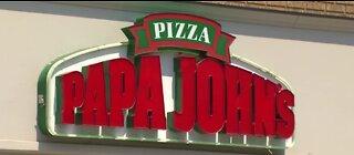 Free pizza giveaway at Papa John's