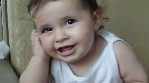 Watching This Adorable Baby Talk On The Phone Will Overwhelm You With Cuteness