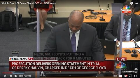 Chauvin Trial Day One Reverse Speech