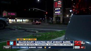 Early morning shooting at Whiskey Barrel