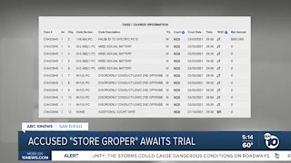 """Accused SD County """"store groper"""" awaits trial"""