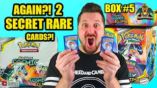 Cosmic Eclipse Booster Case (Box 5) | Charizard Hunting | Pokemon Opening