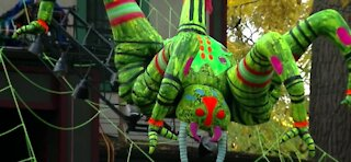 New York Halloween display goes viral