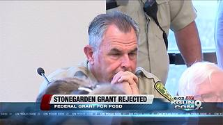 Board of Supervisors reject federal Stonegarden federal grant