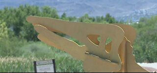 Clark County adds Temporary Art Exhibits at Wetlands Park