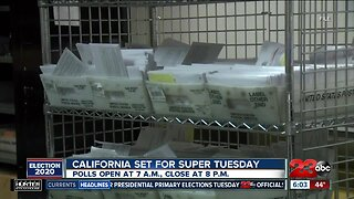 Super Tuesday is underway in Kern County