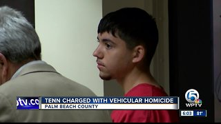 Teen charged with vehicular homicide in Palm Springs crash