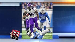 Vikings beat the Detroit Lions