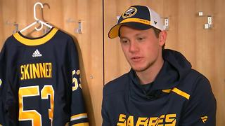 Jeff Skinner ready to get started with Sabres