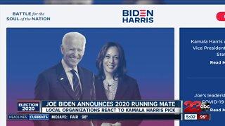 Joe Biden picks Sen. Harris as running mate
