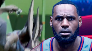 Leaked Space Jam Footage Shows LeBron James Getting His Hairline Spray-Painted On