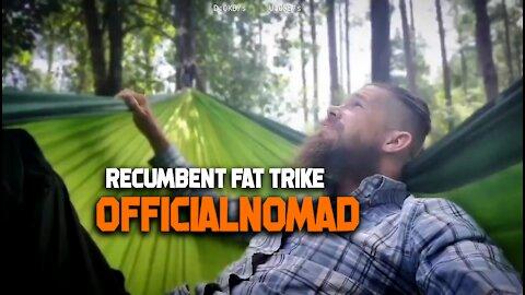 Fat Recumbent Trike