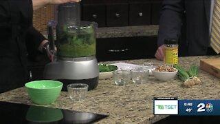 Shape Your Future Healthy Kitchen: Spring Onion Pesto