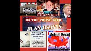 Robert David Steel interviews Juan O Savin about election, military, Illuminati, and more.