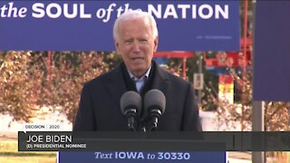 Biden attends campaign event in Wisconsin