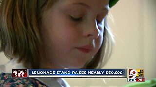 Local lemonade stand earns thousands for Children's Hospital