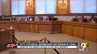 City council approves severance deal