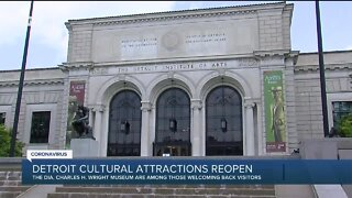 Detroit cultural attractions reopen