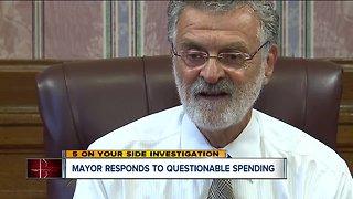 Mayor responds to questionable spending