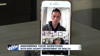 Answering your questions with Erie County Commissioner of Health