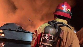 Dozens Feared Dead In Boat Fire Off California Coast