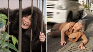 Superkul japansk selfie-bestemor går viralt