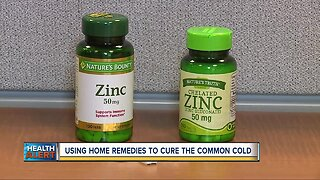 Using home remedies to cure the common cold