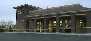 Attempted bank robbery in Henderson