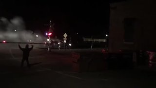 Train collides with truck in downtown Tucson