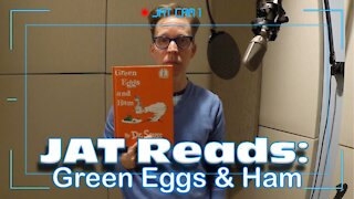 JAT Reads: Green Eggs & Ham as Obi-Wan and Johnny Test