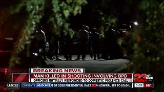 Man killed in officer involved shooting in Bakersfield