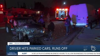 Search for hit-and-run driver in City Heights
